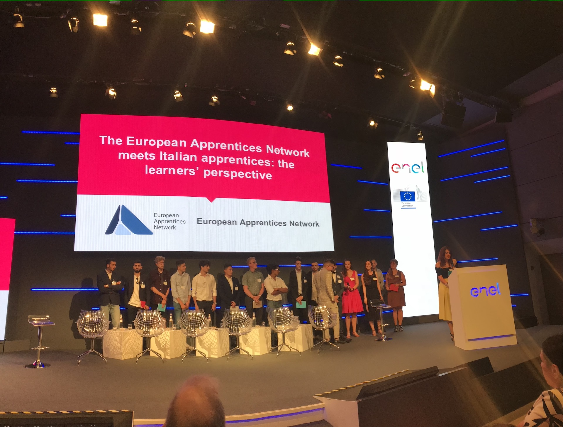 MoveIt Members Participating in European Apprentices Network