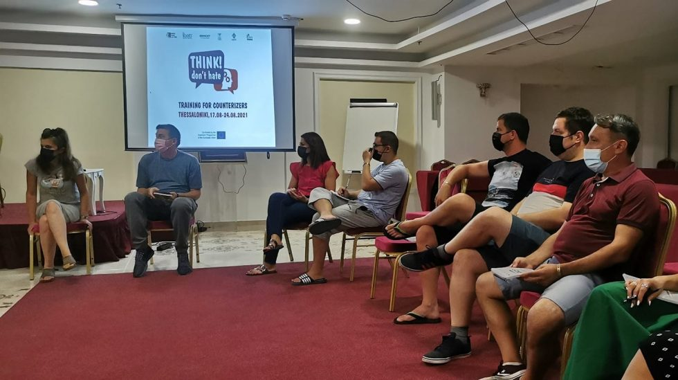 """""""Think! Don't Hate"""" Training for Counterizers – Thessaloniki, Greece"""